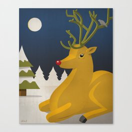 Reindeer's Strike Canvas Print