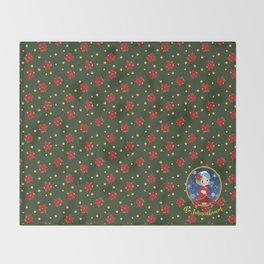 Princess christmas Throw Blanket