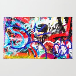Crazy Graffiti  Rug