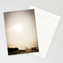 Stroll along the Beach Stationery Cards