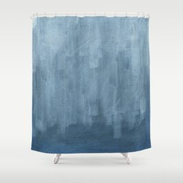 Abstract  / Latvian Winter Shower Curtain