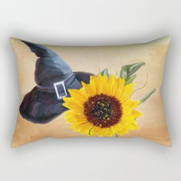 Sunny Witches Hat Rectangular Pillow
