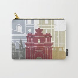Valletta skyline poster Carry-All Pouch