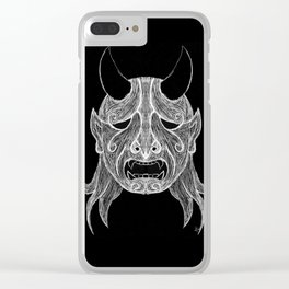 Ghostly Cry Clear iPhone Case