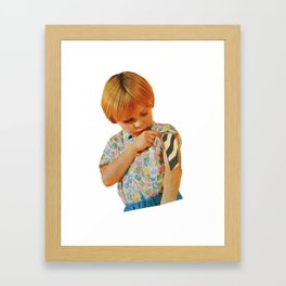 The Kids Are Infected (02 of 02). Framed Art Print