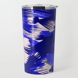 Bue Abstract 1 Travel Mug