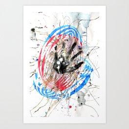 Vibrations - Splash Art Print