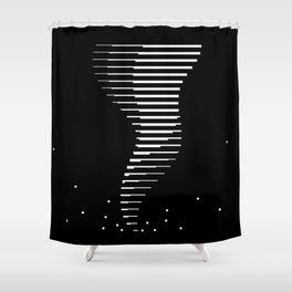 Bitnado Shower Curtain