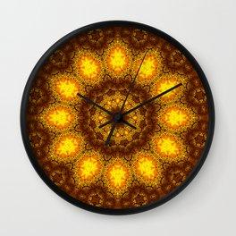 sun flow Wall Clock