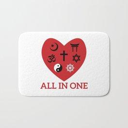All in one Bath Mat