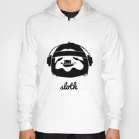 sloth Hoodies featuring Sloth by Max Las