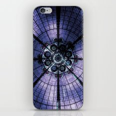 Purple Stained Glass iPhone & iPod Skin