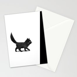 Creeping Cat Stationery Cards