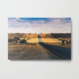 Road in Africa Metal Print