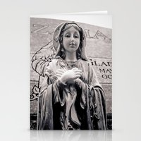 religion Stationery Cards featuring Graveside religion by Vorona Photography