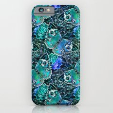 Butterflies In Blue iPhone 6s Slim Case