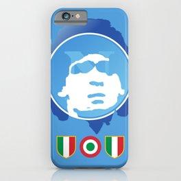 SSC Napoli Maradona iPhone Case