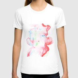 141203 Abstract Watercolor Block 75 T-shirt