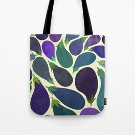 Eggplant's party Tote Bag