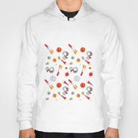 snoopy Hoodies featuring Snoopy Space by Yildiray Atas