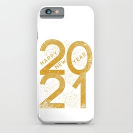 New Year 2021 iPhone Case