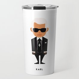 FASHION ICONS - KARL Travel Mug