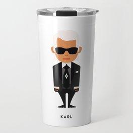 FASHION ICONS - KARL Travel Mug