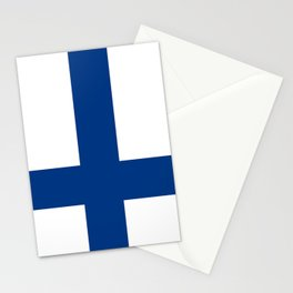 Flag of Finland Finnish Flag Stationery Cards