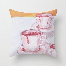 TRAZAS DE CHOCOLATE Throw Pillow