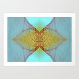 MICRO PLANET Art Print