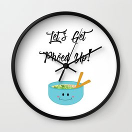 Let's Get Pho'ed Up! Wall Clock