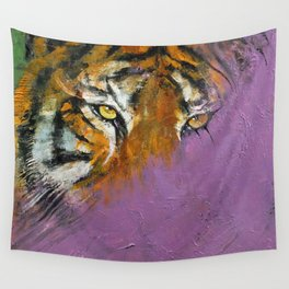 Shadow Tiger Wall Tapestry