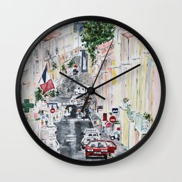 Sète Wall Clock