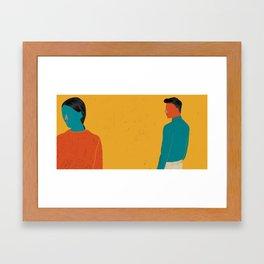 TOGETHER-10 Framed Art Print