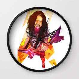 A Dimebag Attitude Wall Clock
