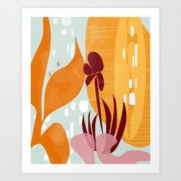 Botanika 8 Art Print
