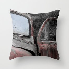 Ol' Red Throw Pillow