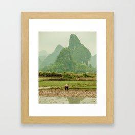 Karst Away Framed Art Print