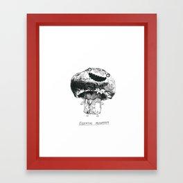 Essential Mushroom Framed Art Print