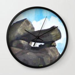 Study of Rocks Wall Clock