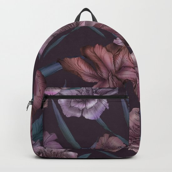 Hand-Drawn Bohemian Floral  Backpack