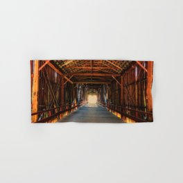Into the Light Honey Run Bridge Hand & Bath Towel