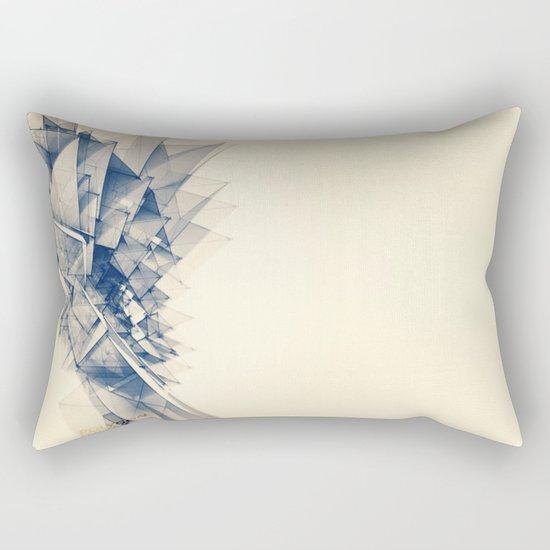 Polygon Tower Rectangular Pillow