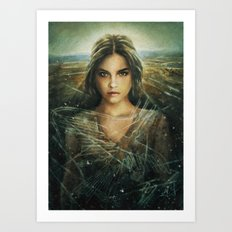 Naska Art Print
