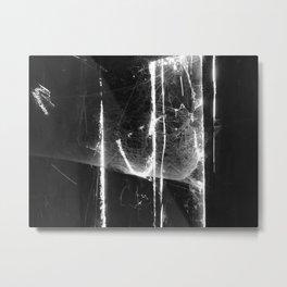 SCRATCHING Metal Print
