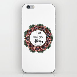 Matthew 28:20 iPhone Skin