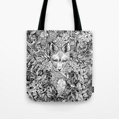hidden fox Tote Bag