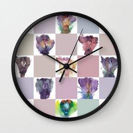 Verronica Kirei's Vulva Portrait Quilt Wall Clock