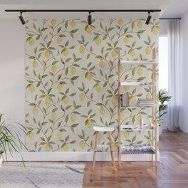 William Morris Vintage Lemon Tree Pattern Wall Mural