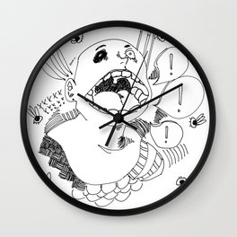 Passing on Vices Wall Clock
